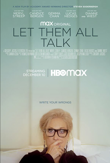 Let them all talk poster